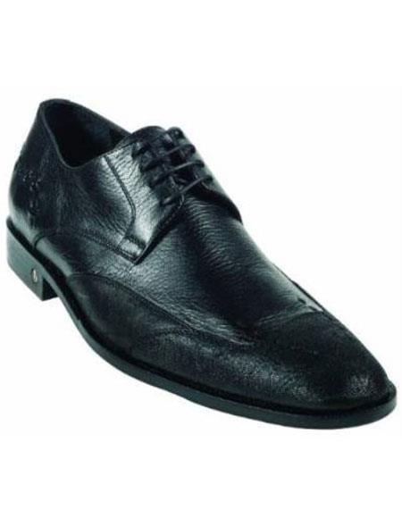 CatShark Skin Liquid Jet Black Dress Shoe