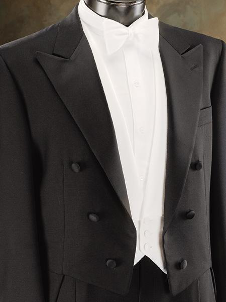 Tuxedo Tailcoat in Liquid
