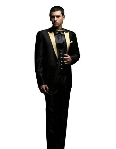 Black And Gold Tuxedo