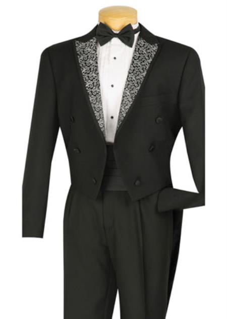 4 Piece Black Tuxedo