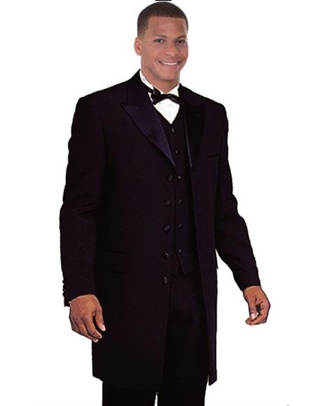 Black 1920s Tuxedo Style