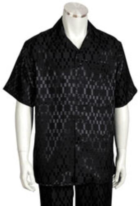 Product# KA6657 Leisure Walking Suit Short Sleeve 2piece Walking Suit