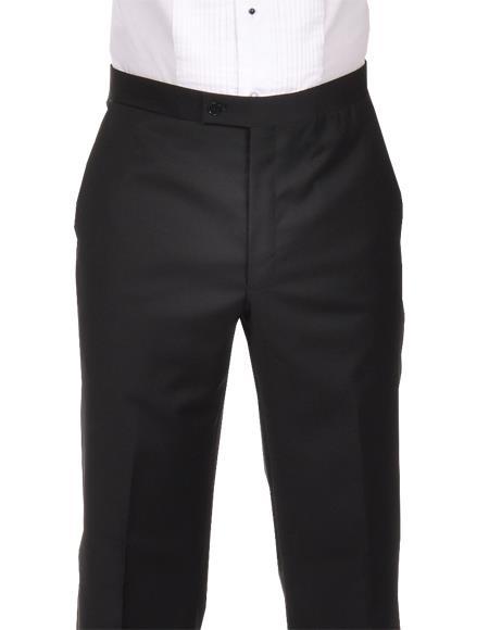 Tuxedo Black 100% Wool