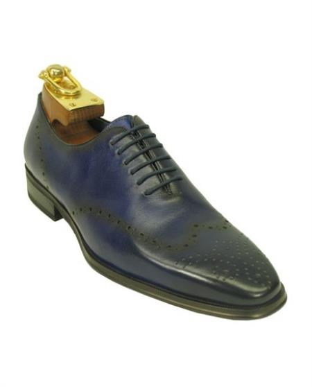 Mens Leather Lace Up