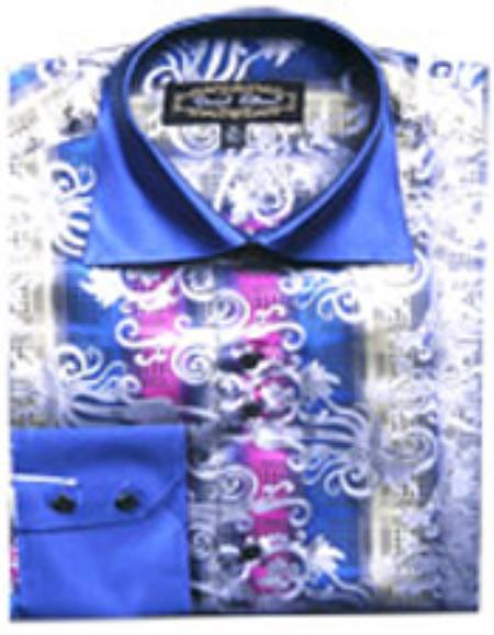 Fancy Shirts Blue/White (100%