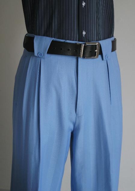 Leg Pants Blue