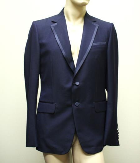 Authentic Wool Fabric Tuxedo