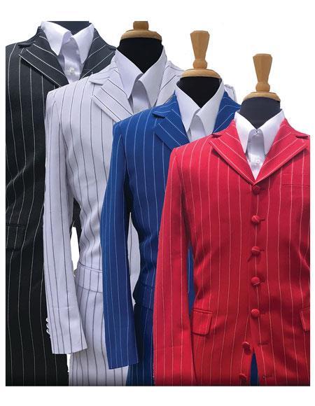 JSM-5295 Bold Gangster Stripe ~ Pinstripe Fashion Zoot Suit