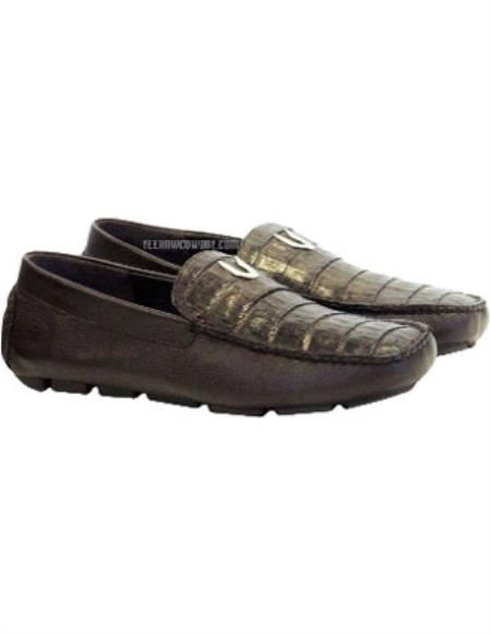 Mens Vestigium Genuine Brown