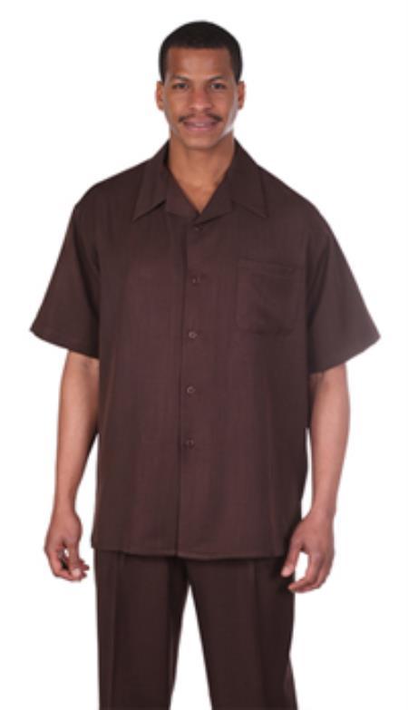 Leisure Walking Suit Shirt