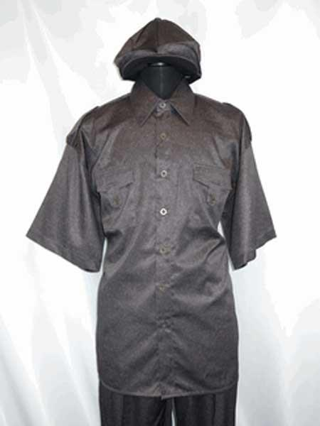 Two Piece brown color