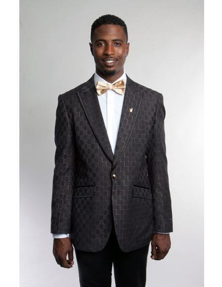 Mens Fashion Stage Brown
