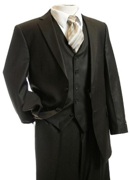 3pc Suit brown color