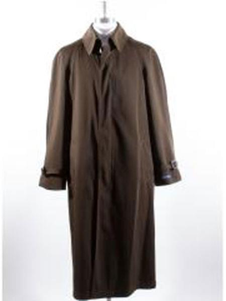 Pronto Uomo Rain Coat For Brown