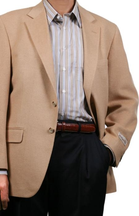 Fall/Winter Sport Coat Camel