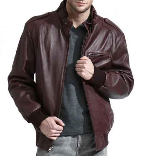 Mens Burgundy Full Sleeve
