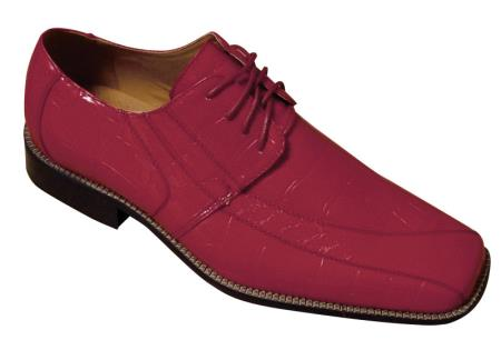 Oxford Faux Croc-Embossed Leather