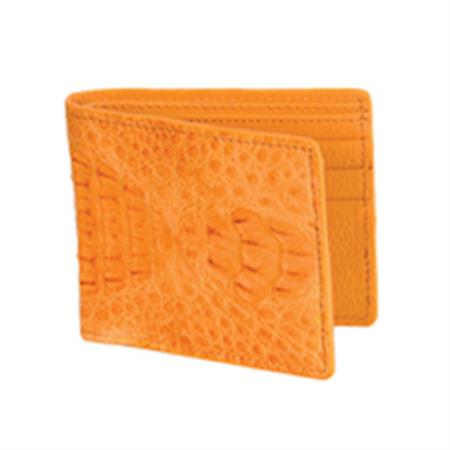 Product# KA0371 Wild West Boots Wallet-Buttercup Genuine Exotic cai ~ Alligator skin