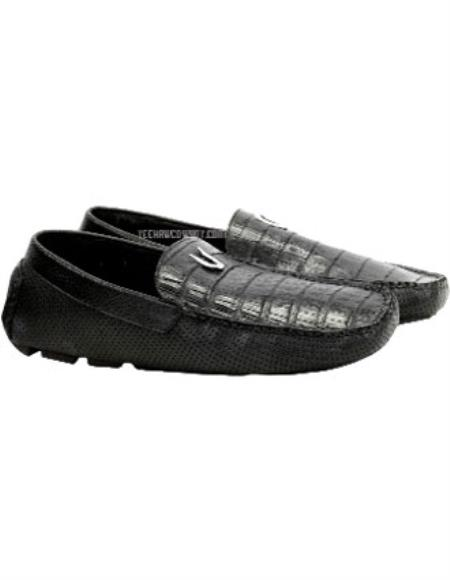Mens Vestigium Genuine Black