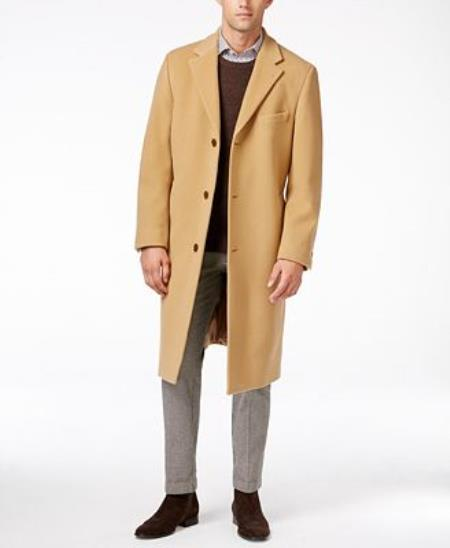great prices hot-selling professional 2019 factory price Product# JSM-1029 Lauren Camel Ralph Lauren Columbia Cashmere-Blend Overcoat