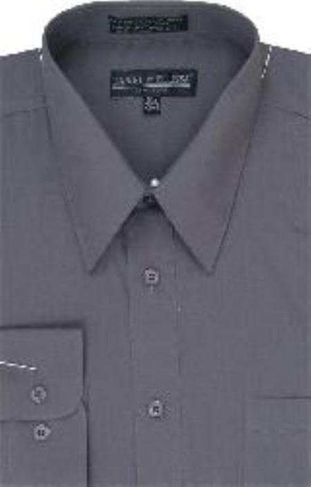 Dress Shirt Dark Grey