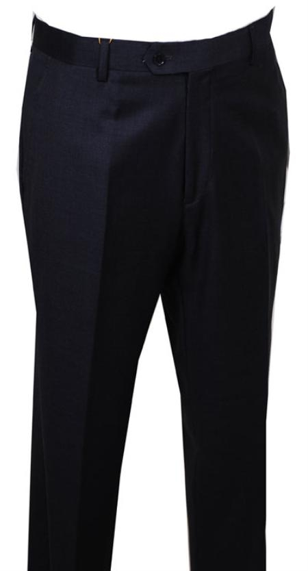 Product# FG115 Dress Pants Dark Grey Masculine color without pleat flat front Pants