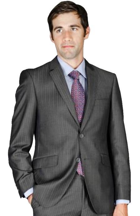 Mens-Charcoal-Stripe