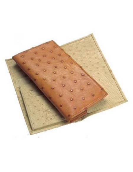 Product# GF4527 Ferrini Full Quill Ostrich Checkbook