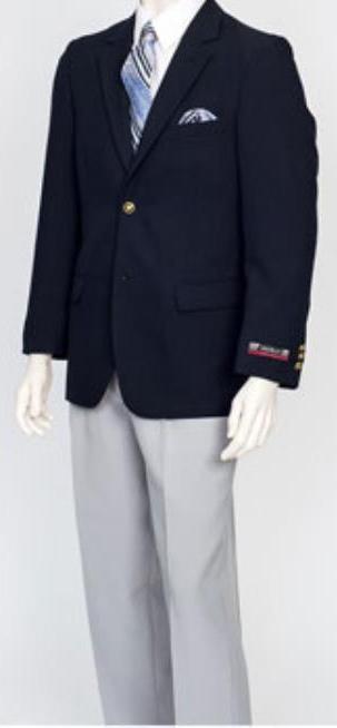 Men's Pacelli 2 Button Classic Navy Jacket Blair