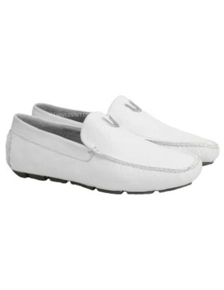 Mens Vestigium White Genuine