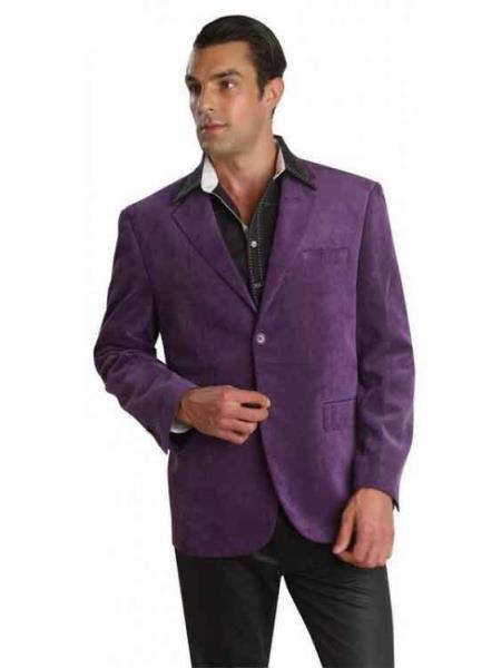 35590-J Patroncito Corduroy Purple