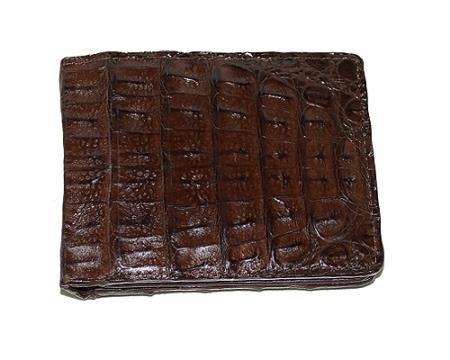 Product# ZT2 Wallet ~ billetera ~ CARTERAS Hornback Wallet brown color shade