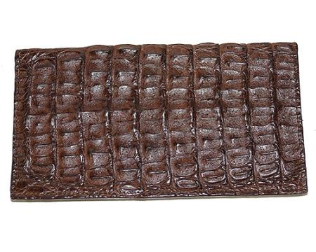 Product# EZQ6 Wallet ~ billetera ~ CARTERAS Large Hornback Wallet brown color shade