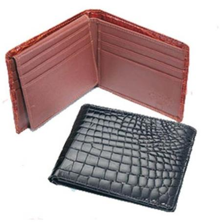 Ferrini Crocodile Billfold Wallet