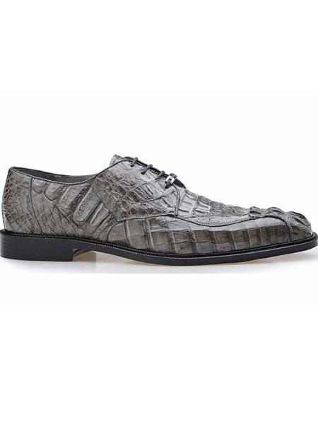 Mens Hornback Crocodile Leather