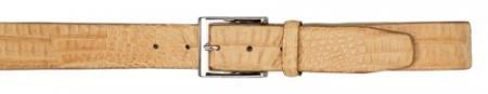 Product# AC-394 Real Authentic Skin Avana All-Over Genuine Crocodile Hornback Belt
