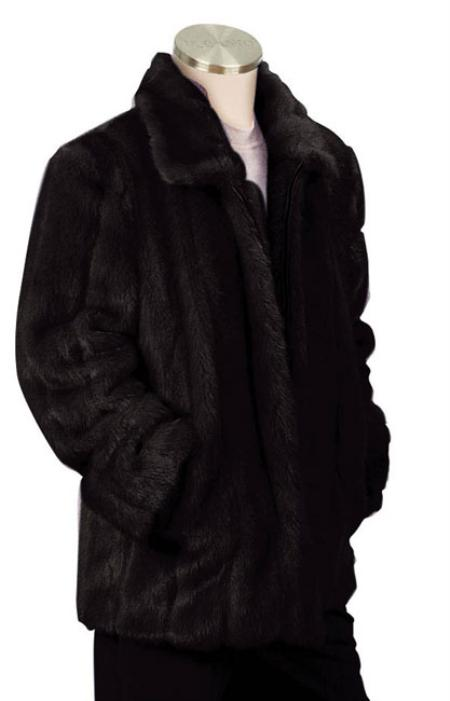 Stylish Faux Fur 3/4