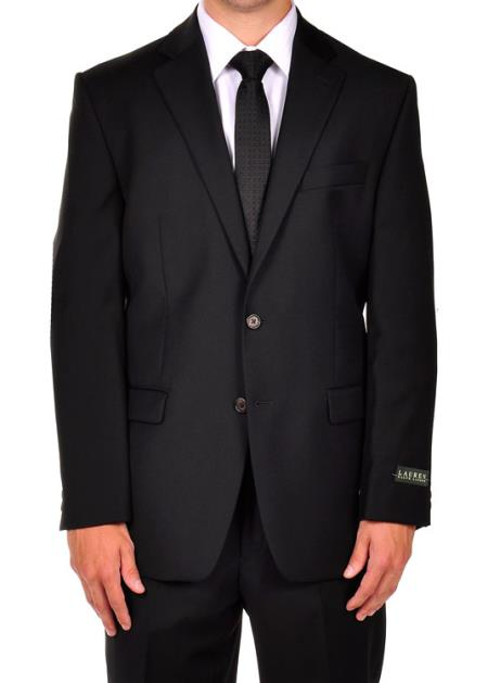 Product# PN76 Ralph Lauren Liquid Jet Black Dress Suit separates online