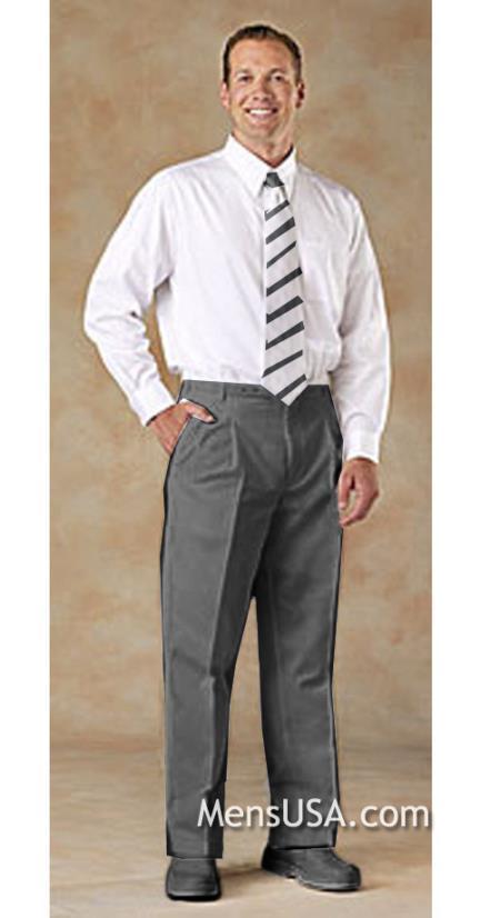 Pleated Slacks Pants /