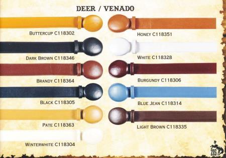 Genuine Deer Cowboy Western