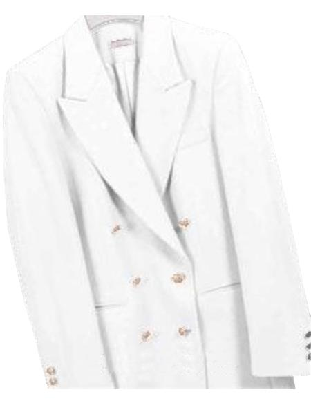 Z762TA Cream ~ Ivory ~ Off White, Six Button Double Breasted Performance Blazer Online Sale Jacket Coat
