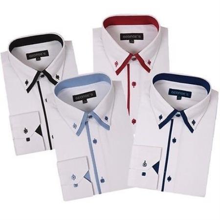 Button Stylish Dress Shirt