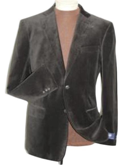 Velvet Blazer - Mens Velvet Jacket brown color shade Velvet Blazer Online Sale Jacket