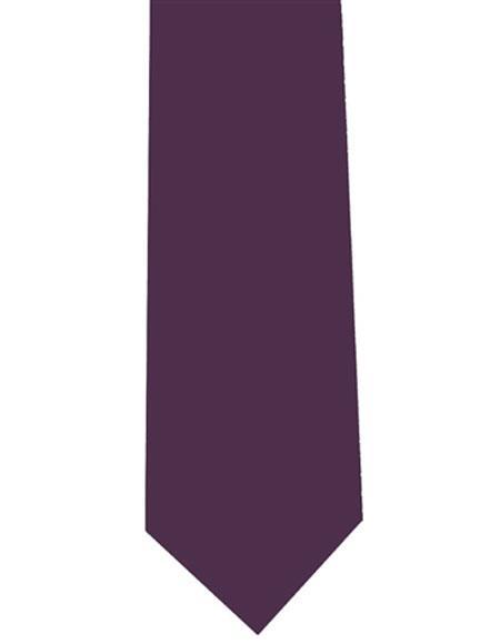 Mens Eggplant Extra Long