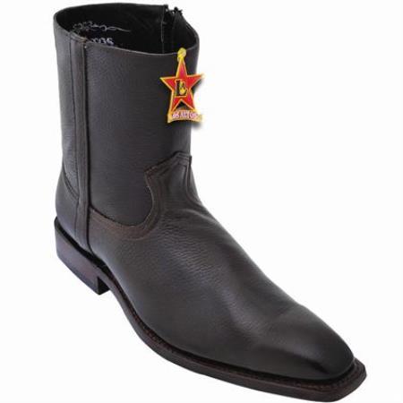 Elk Skin Ankle Boot