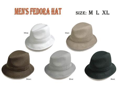 New Fedora Trilby suit
