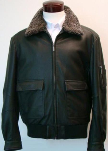 Classic Aviation Jacket With