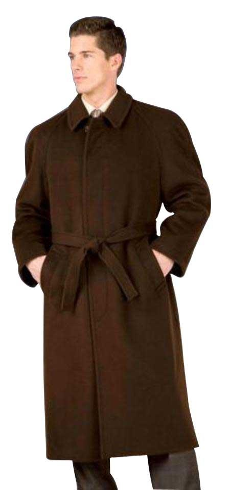 Florence  48inch four button single breasted coat with an 18 inch center vent, fly front