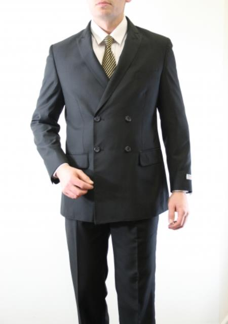 Breasted Four Button Suit