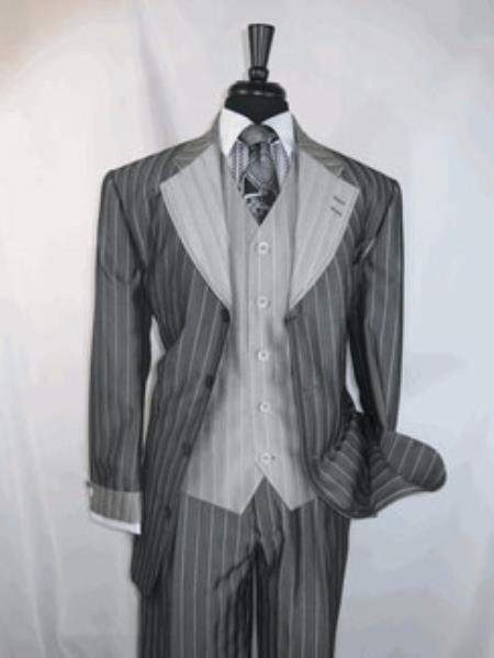 Button Style Vested Single